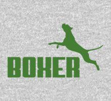 Boxer (green) Kids Clothes