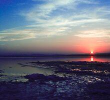 Lake with reflexion by dedakota