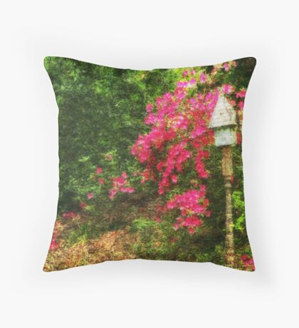 Lots of Pink Throw Pillow