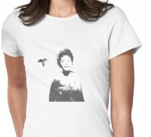 Abbey and the Hummingbird Womens Fitted T-Shirt