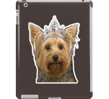 dog need loved iPad Case/Skin