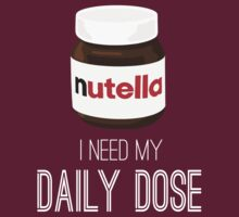 I need my daily dose >Nutella< by JustSoBlonde