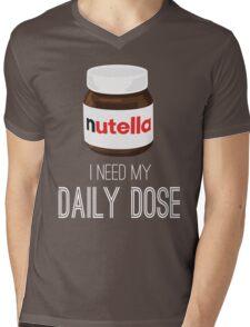 I need my daily dose >Nutella< Mens V-Neck T-Shirt