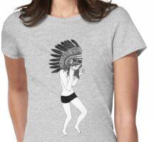 Rain Dance Womens Fitted T-Shirt