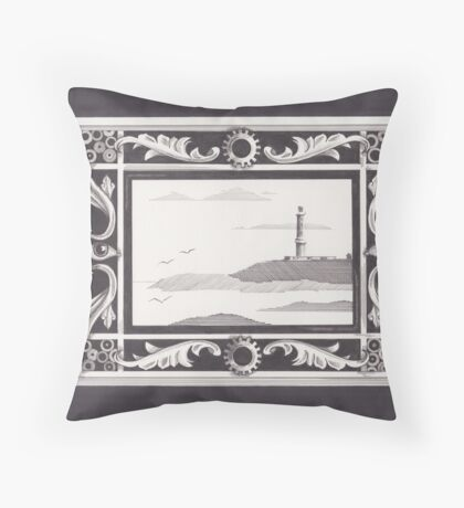 I Want Poetry Throw Pillow