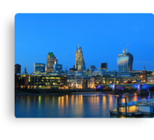 The Cheesegrater and The Walkie Talkie Canvas Print