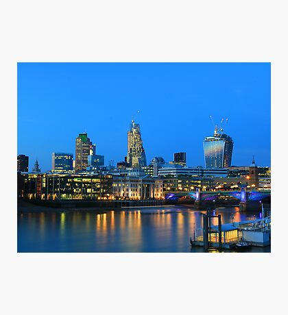 The Cheesegrater and The Walkie Talkie Photographic Print