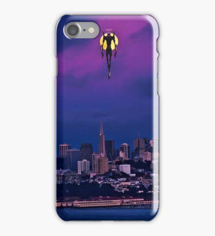 EVA ascending in town iPhone Case/Skin