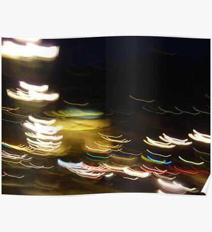 luci serali a Torino Poster