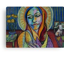 The Saint Canvas Print