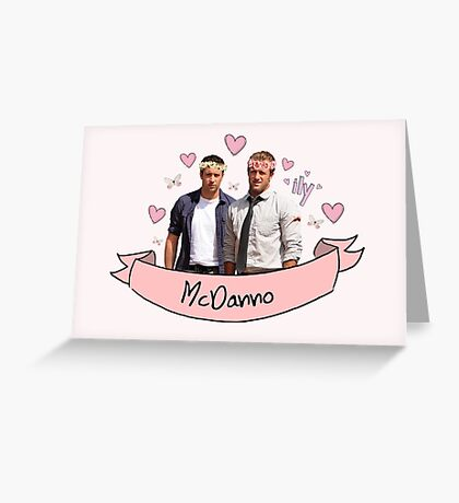 McDanno's Love Greeting Card