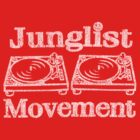 Junglist Movement - Retro Distressed by Winxamitosis