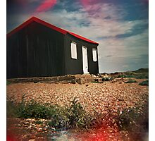 #red hut Photographic Print