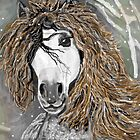 Winter horse by Terri Keys