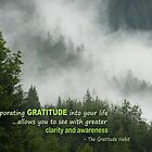 Incorporating Gratitude by Wendy Meg Siegel