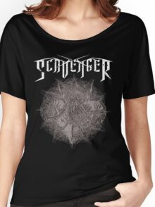 SCAVENGER - Capra Mosh (black) Women's Relaxed Fit T-Shirt