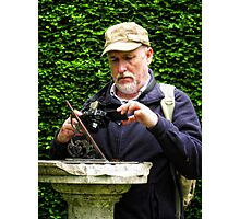 Capturing the Sundial.  (simon) Photographic Print