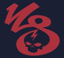 KrakkdSkullz - KS Logo - Red Kids Clothes