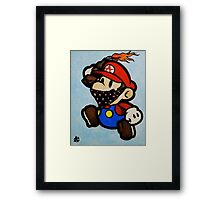 Anarchist Mario Framed Print