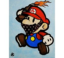 Anarchist Mario Photographic Print