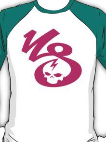 KrakkdSkullz - KS Logo - Magenta T-Shirt