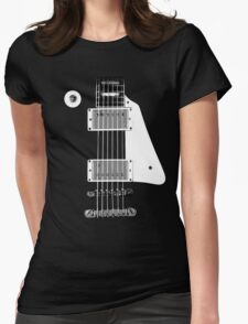 Les Paul FrontView Womens Fitted T-Shirt