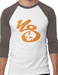 KrakkdSkullz - KS Logo - Orange Men's Baseball ¾ T-Shirt