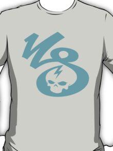 KrakkdSkullz - KS Logo - Turquoise T-Shirt