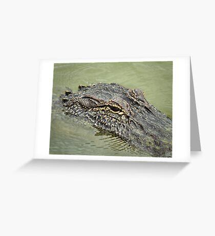 Gator Greeting Card