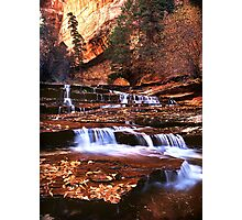 Arch Angel Falls, Zion NP Photographic Print
