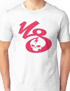 KrakkdSkullz - KS Logo - Neon Red Unisex T-Shirt