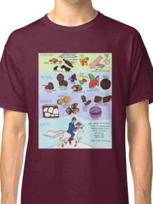 The Infamous Candy Chart Classic T-Shirt