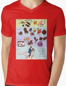The Infamous Candy Chart Mens V-Neck T-Shirt