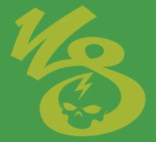 KrakkdSkullz - KS Logo - Chartreuse One Piece - Short Sleeve