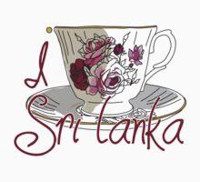 I love SRI LANKA  Baby Tee