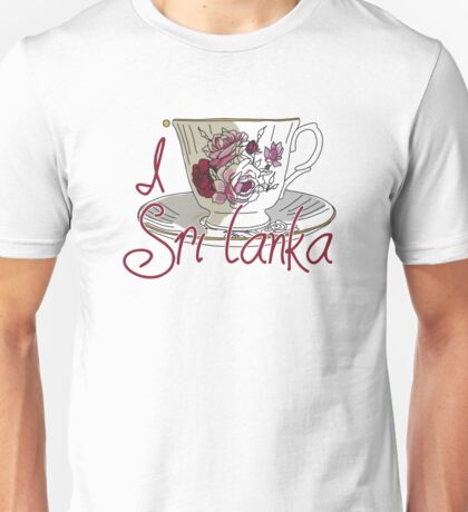 I love SRI LANKA  Unisex T-Shirt