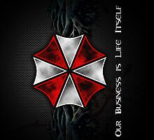 iPhone case - Umbrella Corporation Logo - Apple iPhone case by beecase
