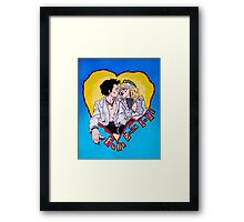 God Save MY Queen Sid and Nancy Sex Pistols Framed Print