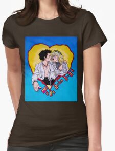 God Save MY Queen Sid and Nancy Sex Pistols Womens Fitted T-Shirt