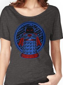 Up, Up, Away, and Exterminate!! Women's Relaxed Fit T-Shirt