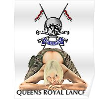 Queens Royal Lancers Poster