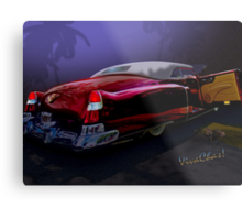 Cadillac Biarritz Convertible Daddy's Caddy Must Have Been Moonglow Metal Print