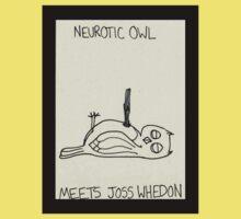 Neurotic Owl Meets Joss Whedon Baby Tee