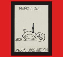 Neurotic Owl Meets Joss Whedon One Piece - Short Sleeve