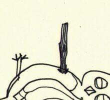 Neurotic Owl Meets Joss Whedon Sticker