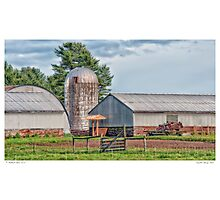 Crystal Spring Farm Photographic Print