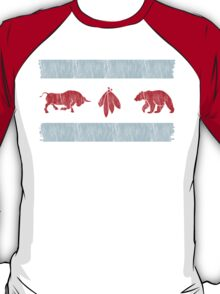 The Real Chicago Flag T-Shirt