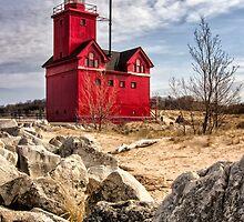 Holland Lighthouse by Karri Klawiter