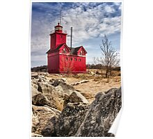 Holland Lighthouse Poster