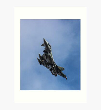 RAF Typhoon  Art Print